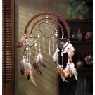 Dreamcatcher Heart Wind Chime